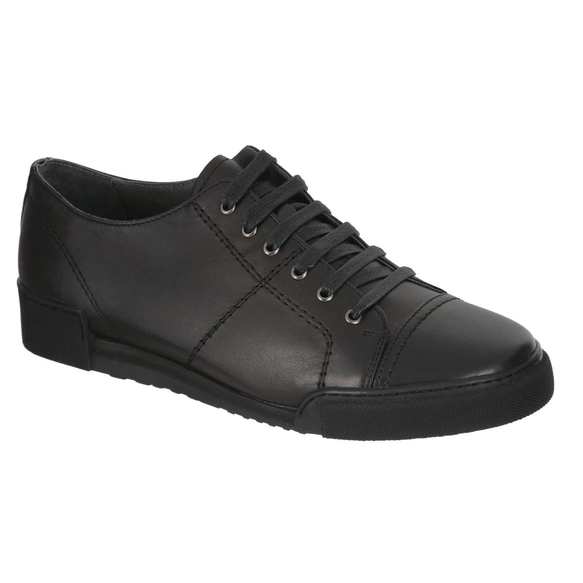 Полуботинки мужские. M23125M23125Модные мужские полуботинки Vitacci покорят вас своим удобством. Модель изготовлена из натуральной высококачественной кожи и оформлена декоративной прострочкой, задним наружным ремнем. Подошва сзади дополнена прорезиненной накладкой с тиснением в виде названия бренда. Шнуровка прочно фиксирует обувь на ноге. Съемная стелька EVA с поверхностью из натуральной кожи обеспечивает превосходную амортизацию и комфорт. Подошва оснащена противоскользящим рифлением. Стильные полуботинки прекрасно впишутся в ваш гардероб.