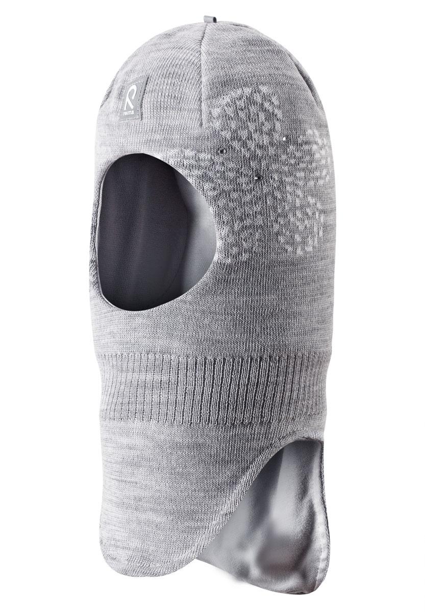 Шапка-шлем для девочки Rosebud. 528419528419_4620Детская шапка-шлем Reima Rosebud идеально подойдет для прогулок в холодное время года. Выполненная из 100% шерсти с подкладкой из эластичного хлопка, она мягкая, прекрасно сохраняет тепло и обладает отличной гигроскопичностью (не впитывает влагу, но проводит ее). По своей конструкции шлем облегает голову ребенка, надежно закрывая ушки, лоб и щечки от продуваний. Шапка дополнена ветронепроницаемыми вставками в области ушей, которые защищают от холодного ветра. Модель оформлена вязаным жаккардовым узором в виде цветочков и украшена стразами. Современный дизайн и высокое качество делают эту шапку модным и стильным предметом детского гардероба. В ней ваш ребенок будет чувствовать себя тепло и комфортно, и всегда будет в центре внимания! Уважаемые клиенты! Размер, доступный для заказа, является обхватом головы.