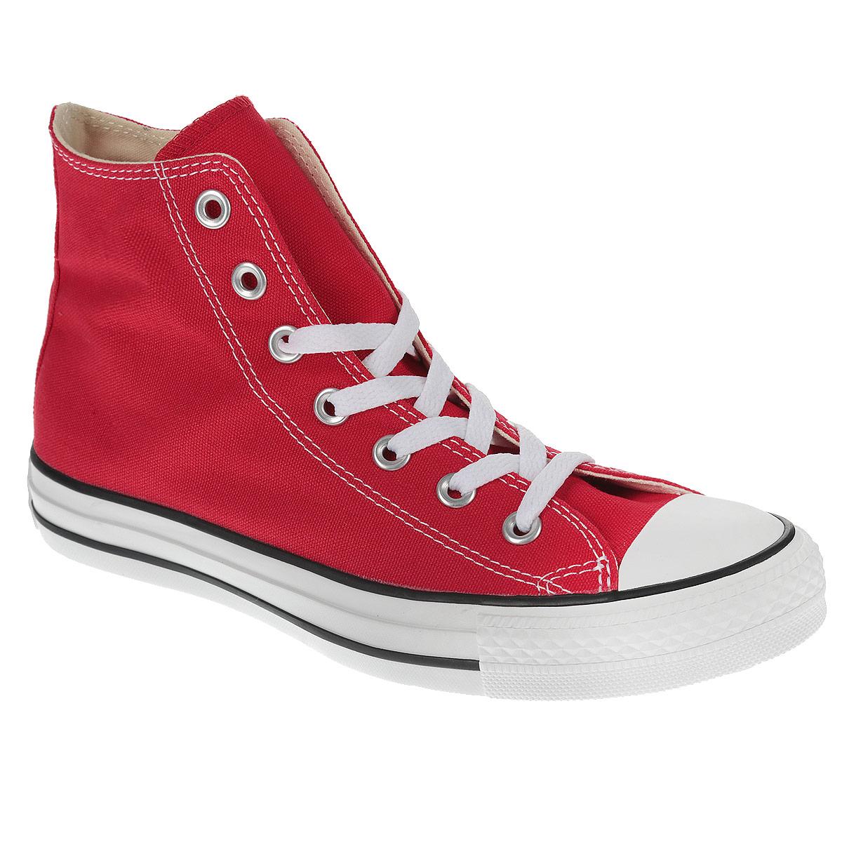 КедыM9160Высокие кеды Chuck Taylor All Star Core Hi от Converse займут достойное место среди вашей обуви. Модель выполнена из плотного текстиля и оформлена на одной из боковых сторон металлическими люверсами и фирменной термоаппликацией, на подошве - прорезиненной накладкой и контрастными полосками. Мыс изделия дополнен классической для кед прорезиненной вставкой. Классическая шнуровка обеспечивает надежную фиксацию обуви на ноге. Стелька из материала EVA с текстильной поверхностью комфортна при движении. Гибкая резиновая подошва с рифлением гарантирует идеальное сцепление с любыми поверхностями. В таких кедах вашим ногам будет комфортно и уютно.