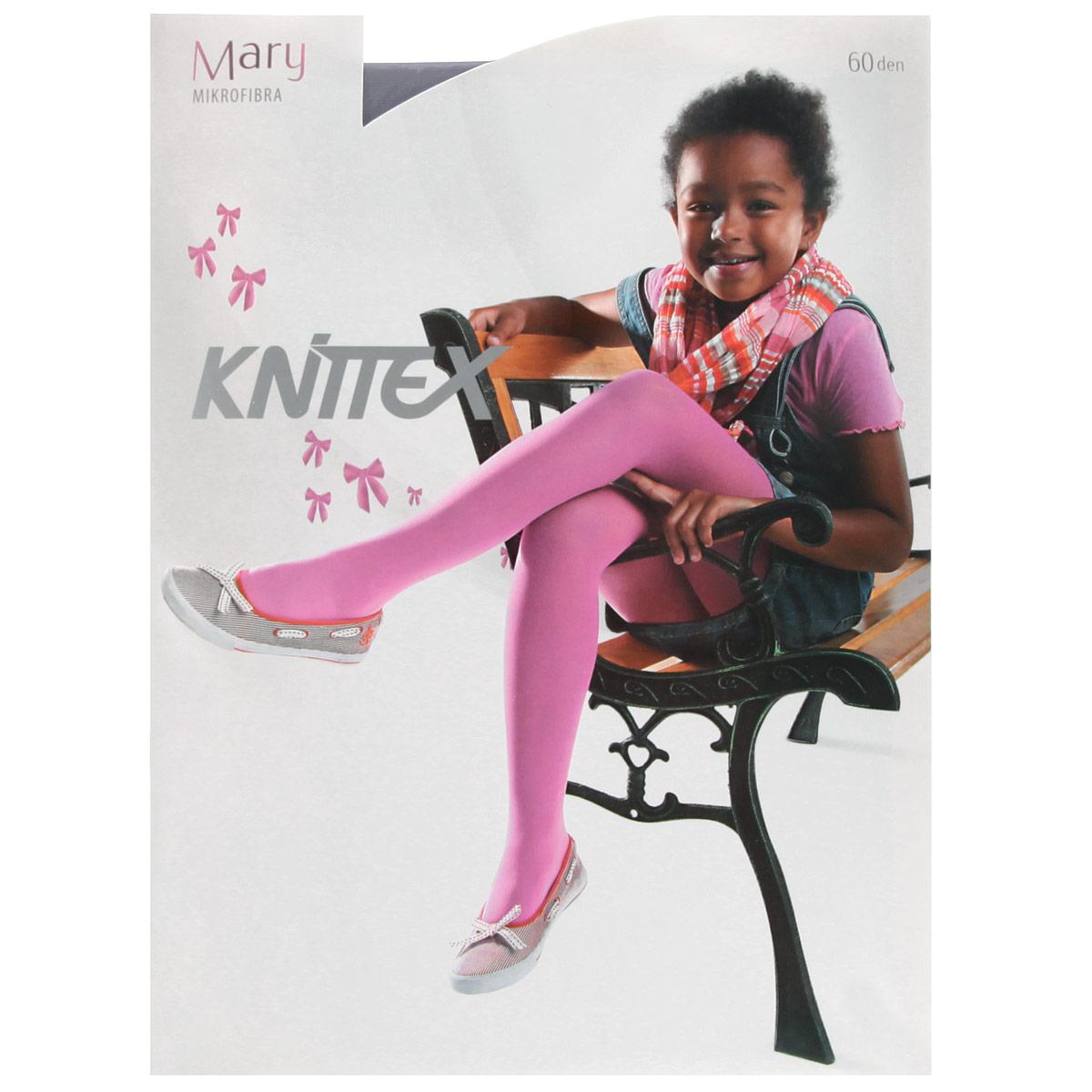 Колготки для девочки Miss MaryRDZMARY_1Классические детские колготки Knittex Miss Mary изготовлены специально для девочек. Мягкие и приятные на ощупь колготки имеют широкую резинку и комфортные плоские швы. Теплые и прочные, эти колготки равномерно облегают ножки, не сдавливая и не доставляя дискомфорта. Эластичные швы и мягкая резинка на поясе не позволят колготам сползать и при этом не будут стеснять движений. Входящие в состав ткани полиамид и эластан предотвращают растяжение и деформацию после стирки. Однотонная расцветка позволит сочетать эти колготки с любыми нарядами маленькой модницы. Классические колготки - это идеальное решение на каждый день для прогулки, школы, яслей или садика. Такие колготки станут великолепным дополнением к гардеробу вашей красавицы.
