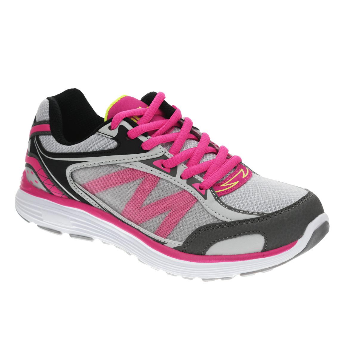 74191-1Модные кроссовки от Kapika очаруют вашу девочку с первого взгляда! Модель изготовлена из дышащего текстиля со вставками из искусственной кожи и оформлена на язычке названием бренда, на заднике - надписью Sport. Шнуровка надежно фиксирует обувь на ноге. Стелька EVA с текстильной поверхностью эффективно поглощает запахи и влагу, снижает утомляемость ног при длительных физических нагрузках, обеспечивает отличную амортизацию. Супинатор на стельке предотвращает развитие плоскостопия. Подошва с протектором гарантирует отличное сцепление с любыми поверхностями. Стильные кроссовки займут достойное место в гардеробе вашего ребенка.