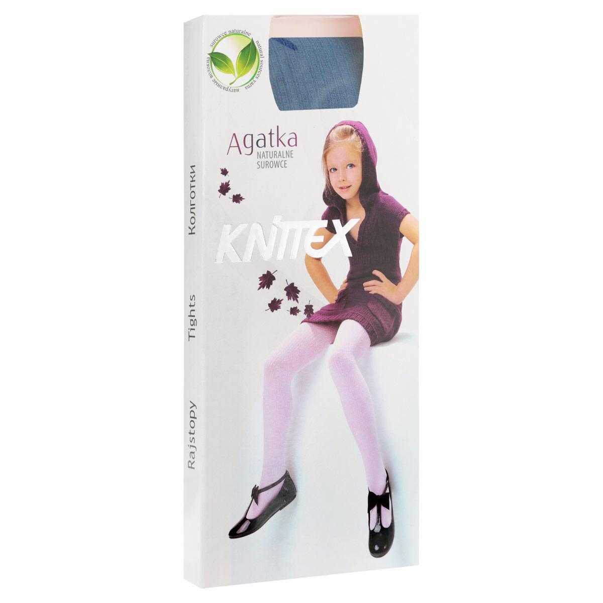 Колготки для девочки AgatkaRDZAGATKA_1Классические детские колготки Knittex Agatka изготовлены специально для девочек. Плотные колготки с продольным рельефным узором в виде мелкого рубчика имеют широкую резинку и комфортные плоские швы. Теплые и прочные, эти колготки равномерно облегают ножки, не сдавливая и не доставляя дискомфорта. Эластичные швы и мягкая резинка на поясе не позволят колготам сползать и при этом не будут стеснять движений. Входящие в состав ткани полиамид и эластан предотвращают растяжение и деформацию после стирки. Однотонная расцветка позволит сочетать эти колготки с любыми нарядами маленькой модницы. Классические колготки - это идеальное решение на каждый день для прогулки, школы, яслей или садика. Такие колготки станут великолепным дополнением к гардеробу вашей красавицы.