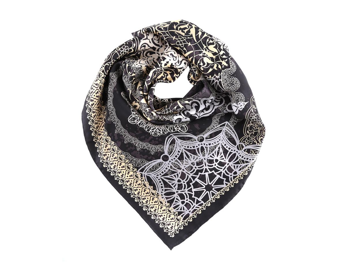 ПлатокCX1516-36-1Замечательный женский платок Leo Ventoni станет изысканным аксессуаром, который подчеркнет ваши индивидуальность и очарование. Модель изготовлена из шелка и оформлена абстрактным узором. Дизайн полотна придает модели удивительно динамичное и яркое настроение. Края модели по периметру обработаны вручную. Платок можно повязать на шею, украсить им причёску или повесить на сумочку. Платок Leo Ventoni станет вашим верным спутником, а окружающие обязательно будут обращать свое восторженное внимание на вас.