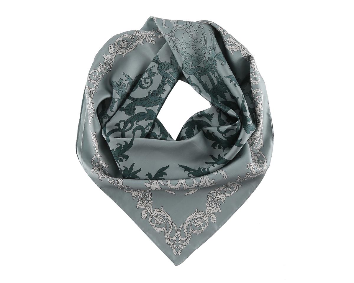 ПлатокCX1626-4Нежный шелковый платок Fabretti станет нарядным аксессуаром, который призван подчеркнуть индивидуальность и очарование женщины. Оригинальный дизайн полотна добавит изысканности и привлечёт всеобщее внимание. Края платка качественно обработаны вручную. Этот модный аксессуар женского гардероба гармонично дополнит образ современной женщины, следящей за своим имиджем и стремящейся всегда оставаться стильной и элегантной.