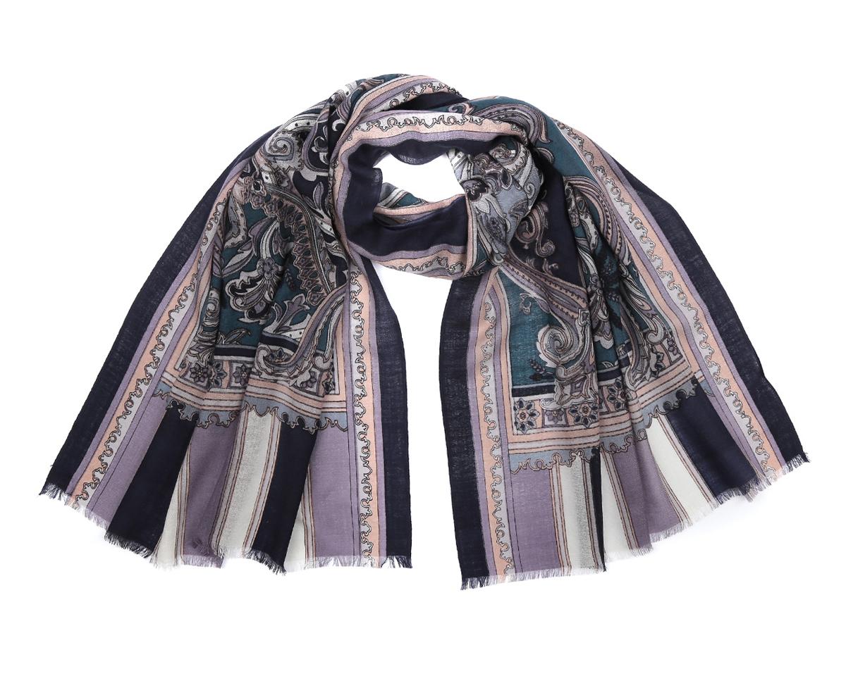 ШарфYNNT0116-5Потрясающий женский шарф Fabretti выполнен из шерсти и украшен актуальным этническим узором. Края модели оформлены коротенькой бахромой. Великолепный женский шарф Fabretti станет вашим верным спутником, а окружающие обязательно будут обращать свое восторженное внимание на вас.