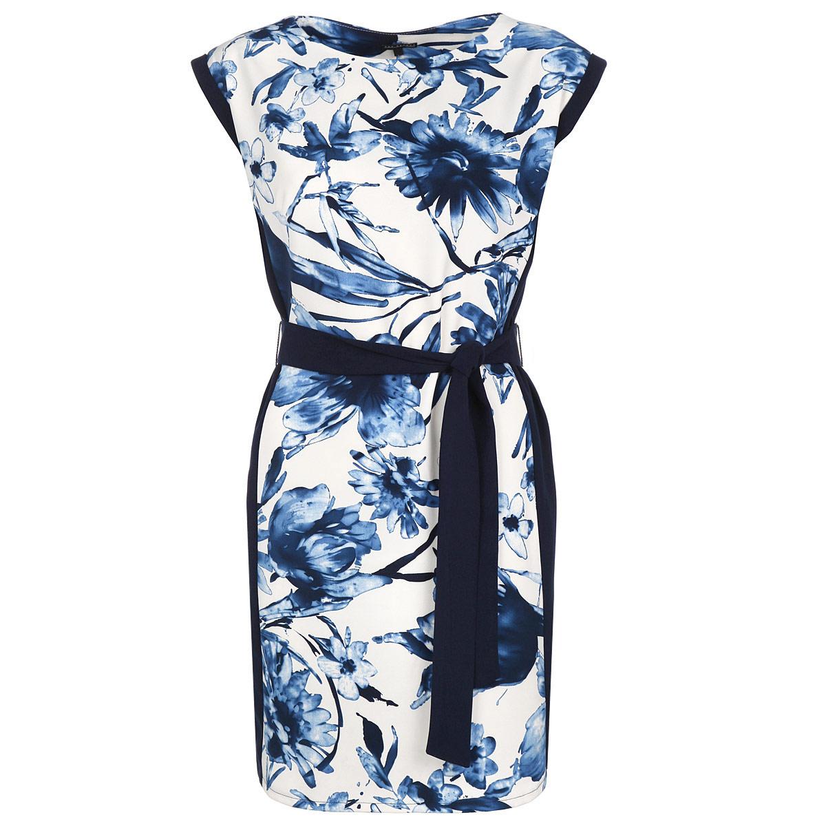 Платье. SSU1415GRSSU1415GRОригинальное платье Top Secret изготовлено из высококачественного материала. Такое платье обеспечит вам комфорт и удобство при носке. Модель с круглым вырезом горловины и короткими рукавами-кимоно выгодно подчеркнет все достоинства вашей фигуры благодаря приталенному силуэту. Платье дополнено текстильным поясом. Изысканное платье-миди, оформленное красочным цветочным принтом, создаст обворожительный неповторимый образ. Это модное и удобное платье станет превосходным дополнением к вашему гардеробу, оно подарит вам удобство и поможет вам подчеркнуть свой вкус и неповторимый стиль.