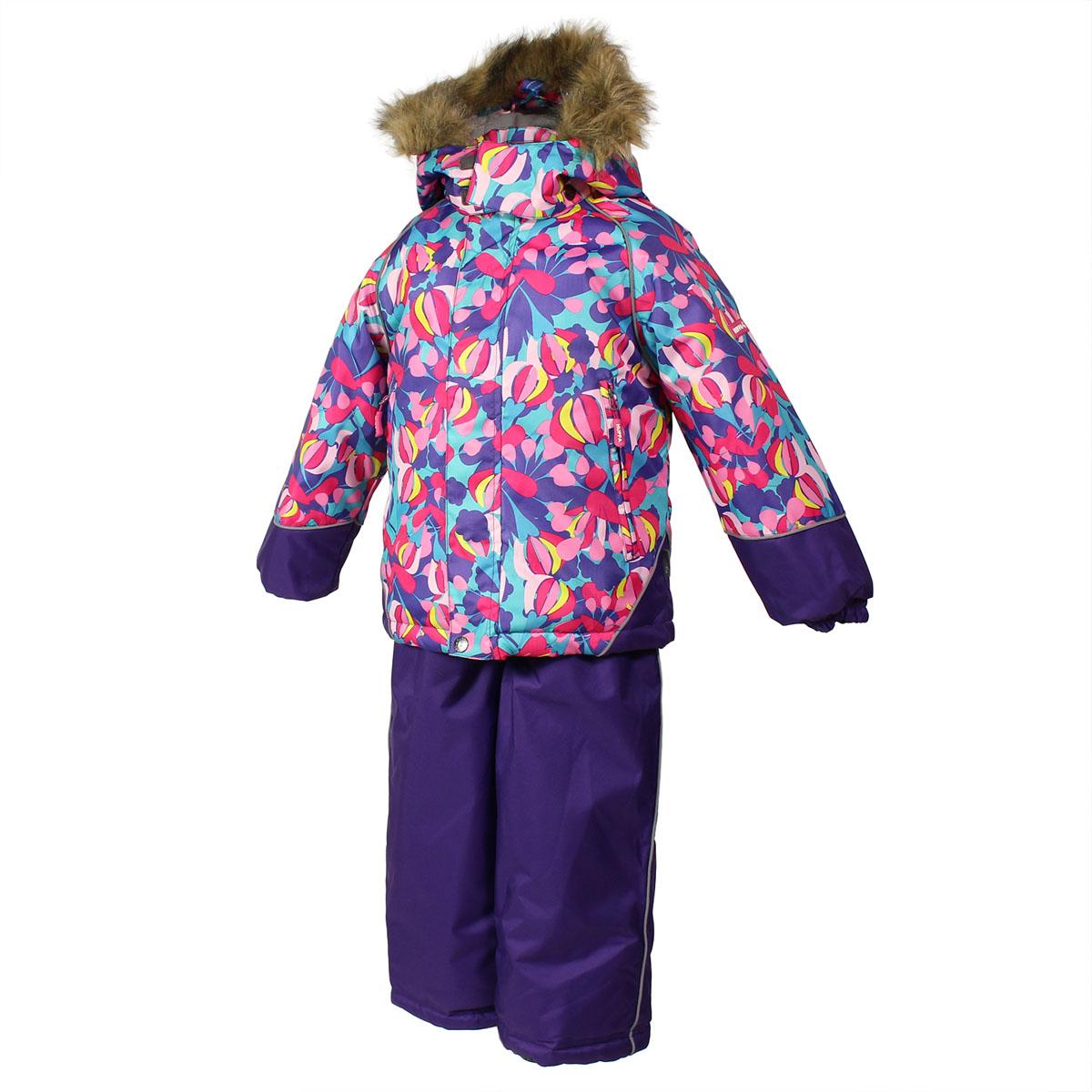 Huppa Комплект для девочки Enzy: куртка, полукомбинезон. 4131CW15_J