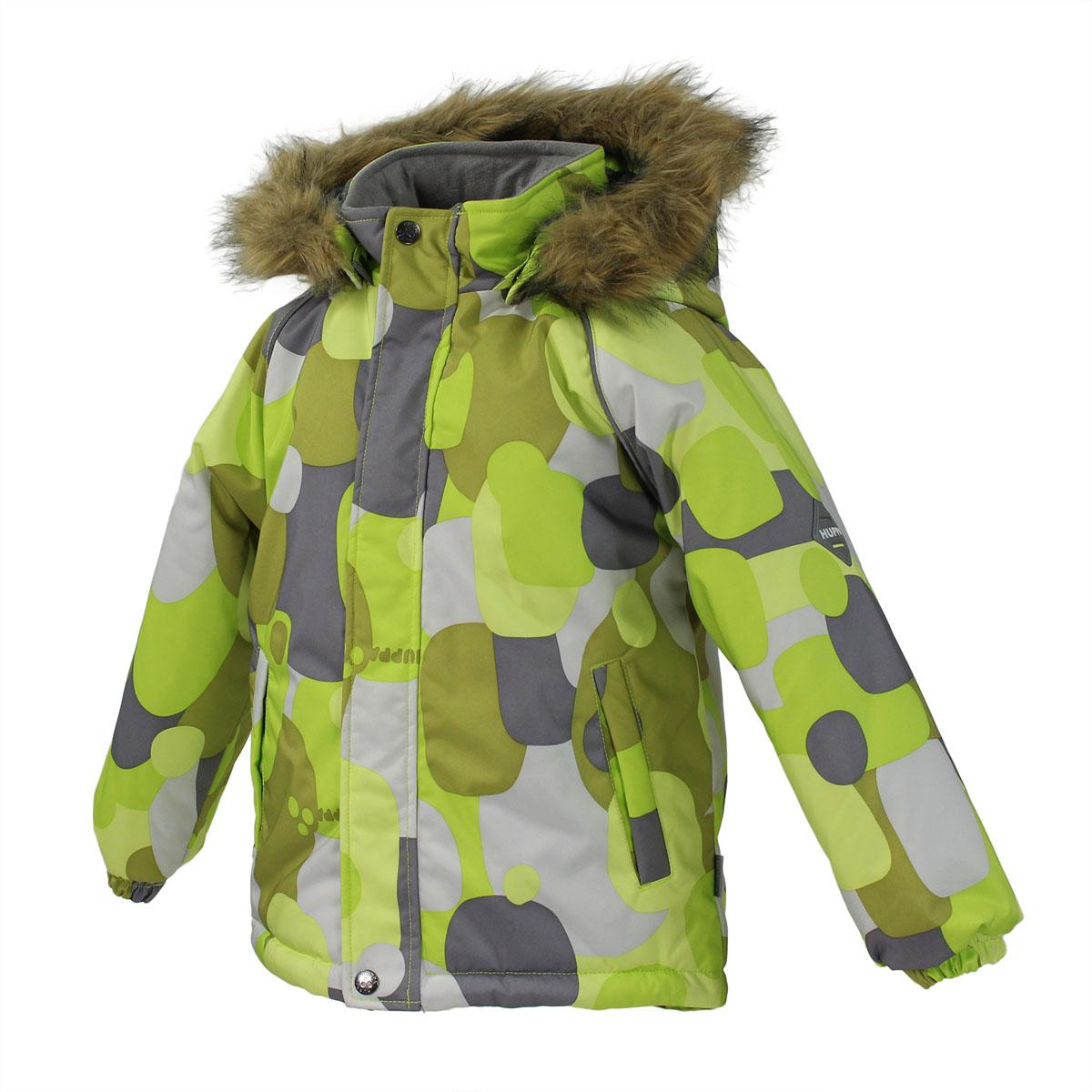 Куртка детская Marinel. 1720BW01_R1720BW01_R63Очаровательная детская куртка Huppa Marinel идеально подойдет для ребенка в холодное время года. Курточка изготовлена из водоотталкивающей и ветрозащитной ткани с утеплителем из HuppaTherm - 100% полиэстера. HuppaTherm - высокотехнологичный легкий синтетический утеплитель нового поколения. Уникальная структура микроволокон не позволяет проникнуть холодному воздуху, в то же время, удерживая теплый воздух между волокнами, обеспечивая высокую теплоизоляцию изделия. Полиуретан с микропорами препятствует прохождению воды и ветра сквозь ткань внутрь изделия, в то же время, позволяя испаряться выделяемой телом влаге. Для максимальной влагонепроницаемости изделия основные швы проклеены водостойкой лентой. Сплетения волокон в тканях выполнены по специальной технологии, которая придает ткани прочность и предохраняет от истирания. В качестве подкладки используется 100% полиэстер. Куртка с капюшоном и рукавами-реглан застегивается на пластиковую застежку-молнию и дополнительно имеет...