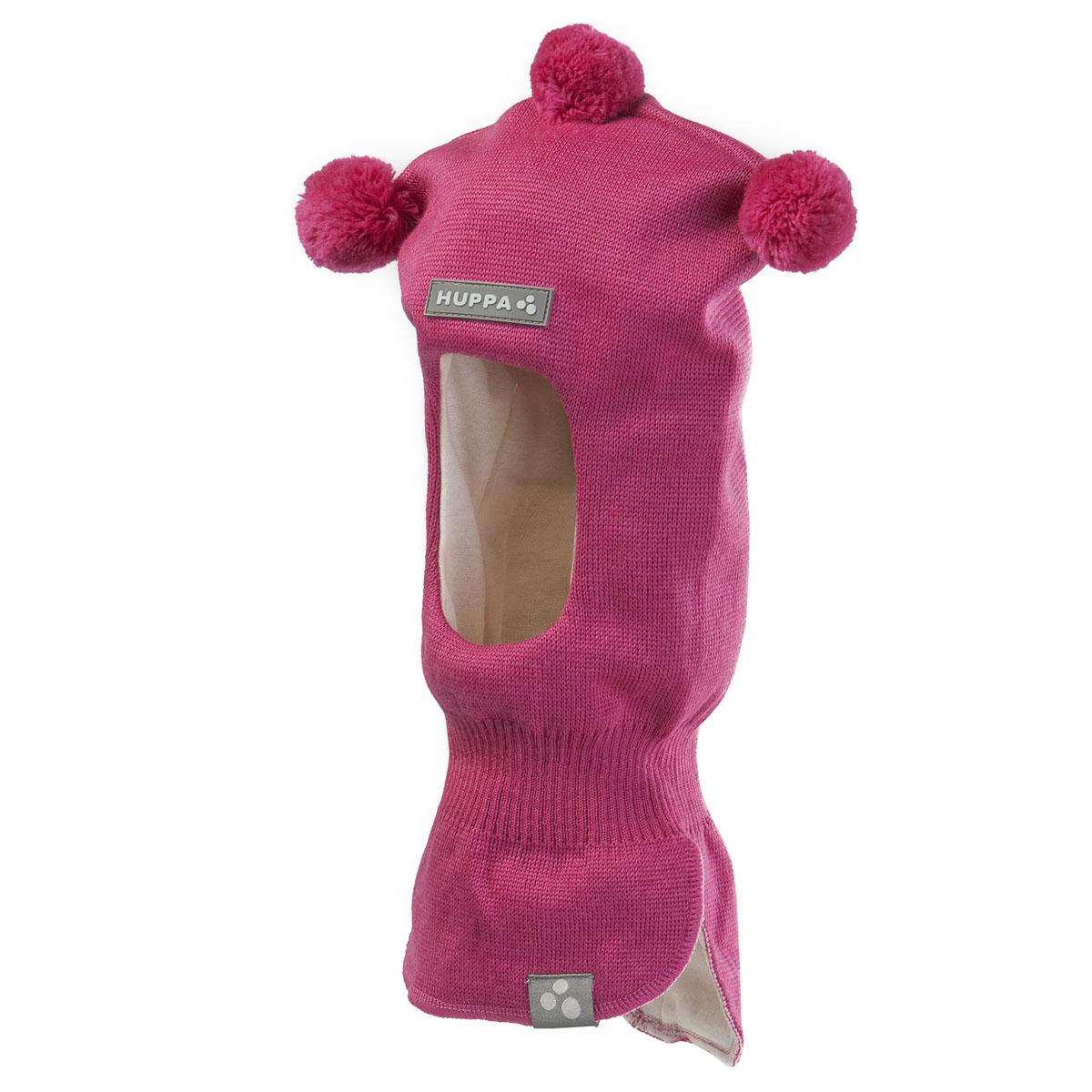 Шапка-шлем детская. 8507AW158507AW15_020Комфортная детская шапка-шлем Huppa идеально подойдет для прогулок в холодное время года. По своей конструкции шлем облегает головку ребенка, надежно защищая ушки, лобик и щечки от продуваний. Шапочка, выполненная из шерстяной и акриловой пряжи, максимально сохраняет тепло, она мягкая и идеально прилегает к голове. Шерсть хорошо тянется и устойчива к сминанию. Мягкая подкладка выполнена из натурального хлопка, поэтому шапка хорошо сохраняет тепло. Шапочка украшена на макушке тремя небольшими помпонами. С внутренней стороны в районе ушек предусмотрены специальные скрытые вставки, чтобы ушки вашего ребенка не продувались. Также изделие дополнено небольшой нашивкой с названием бренда и светоотражающей вставкой для безопасности ребенка в темное время суток. Оригинальный дизайн и расцветка делают эту шапку стильным предметом детского гардероба. В ней ваш ребенок будет чувствовать себя уютно и комфортно. Уважаемые клиенты! Размер,...