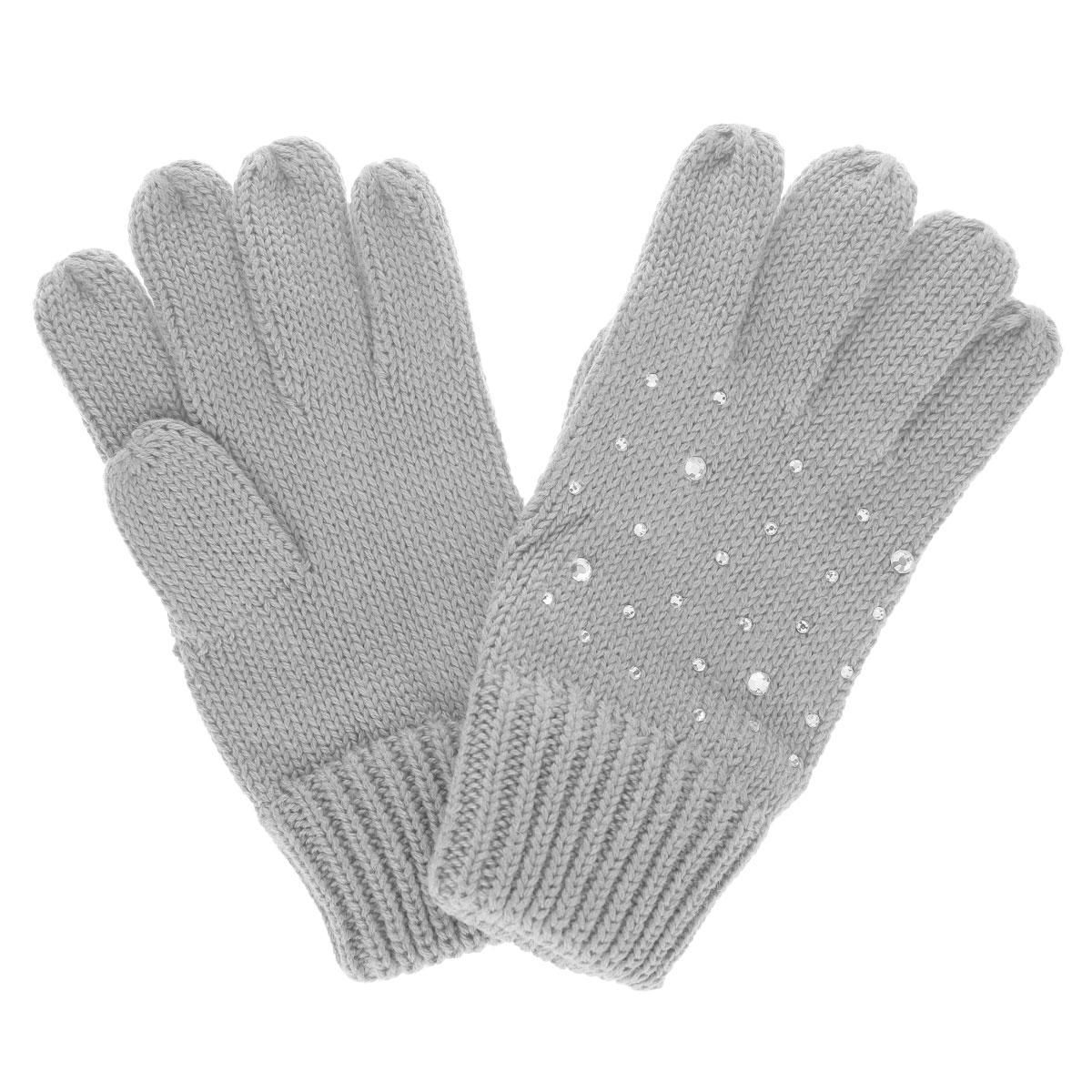 Перчатки для девочки. GL-643/049O-5302GL-643/049O-5302Вязаные перчатки для девочки Sela идеально подойдут вашей дочурке для прогулок в прохладное время года. Изготовленные из хлопковой пряжи с добавлением акрила, они необычайно мягкие и приятные на ощупь, не сковывают движения и позволяют коже дышать, не раздражают нежную кожу ребенка, обеспечивая ему наибольший комфорт, хорошо сохраняют тепло. Перчатки дополнены широкими эластичными манжетами, не стягивающими запястья и надежно фиксирующими их на ручках ребенка. Манжеты связаны крупной резинкой. Оформлены перчатки стразами различного диаметра. Оригинальный дизайн и расцветка делают эти перчатки модным и стильным предметом детского гардероба. В них ваша маленькая модница будет чувствовать себя уютно и комфортно и всегда будет в центре внимания!