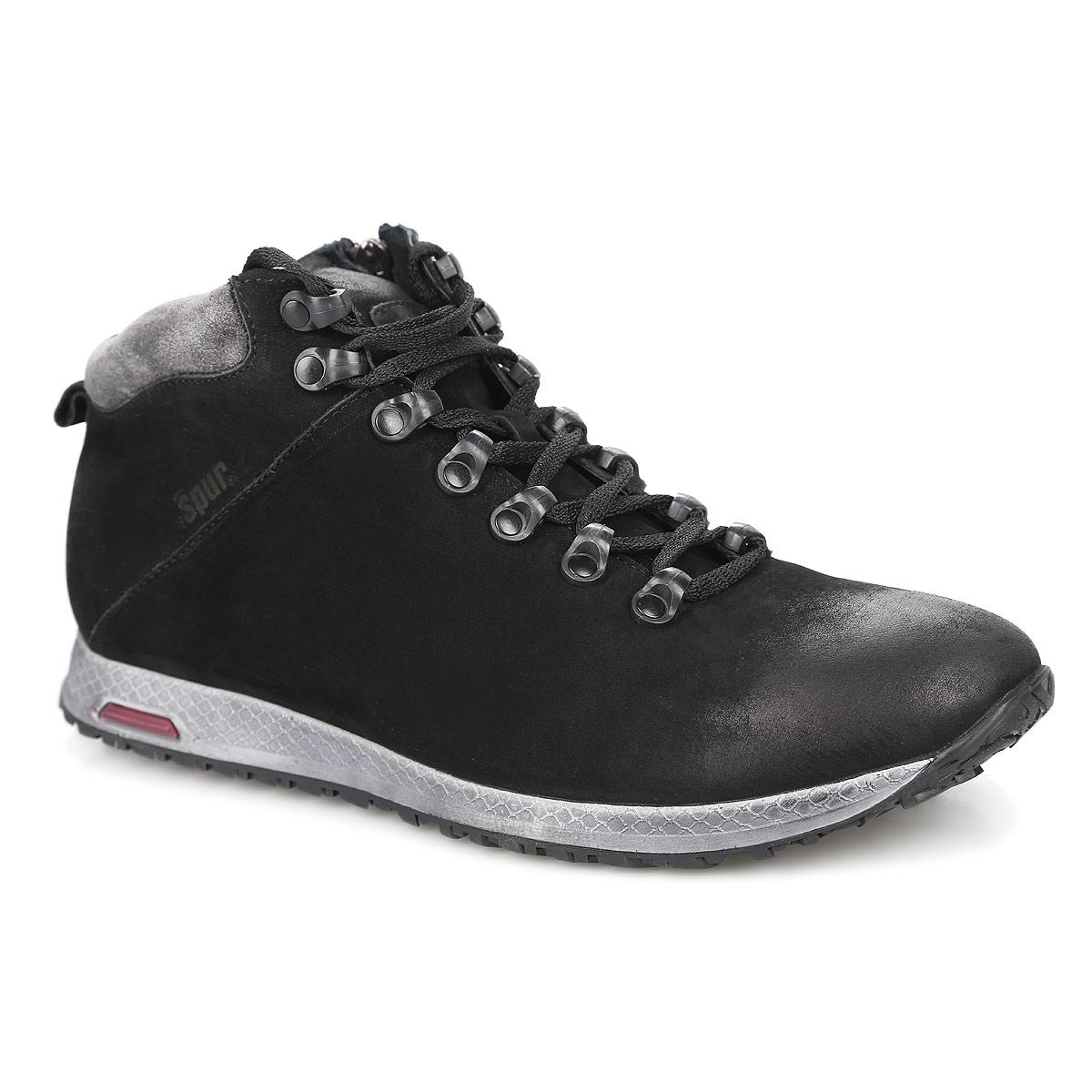 Ботинки мужские. RS4_17989_BLACK_N