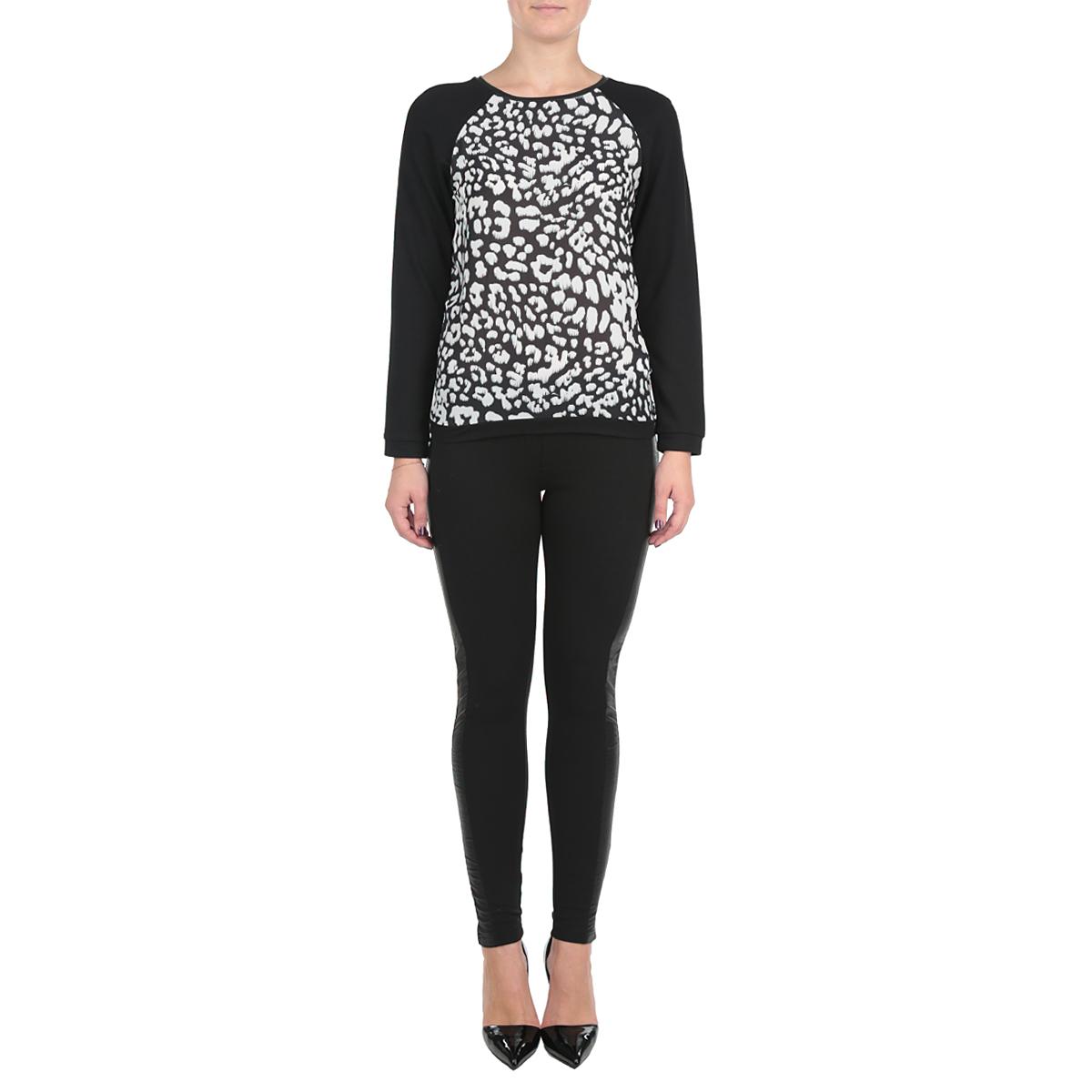 Блуза женская. SBL0359CASBL0359CAСтильная женская блуза Troll выполнена из комбинированного материала, мягкого полиэстера с добавлением вискозы. Благодаря своей универсальности модель идеально впишется в любой гардероб. Модель свободного кроя с длинными рукавами реглан и круглым вырезом горловины. Эта практичная вещь, несомненно, впишется в ваш гардероб, в ней вы будете чувствовать себя модно и комфортно.