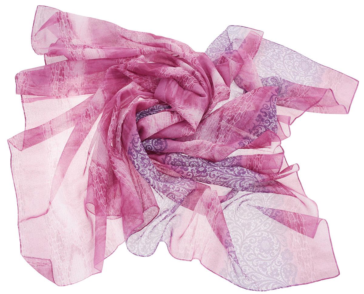 П120120-pinkvioЭлегантный платок Donatella станет изысканным аксессуаром, который призван подчеркнуть индивидуальность и очарование женщины. Платок выполнен из 100% полиэстера и оформлен оригинальным цветочным узором. Этот модный аксессуар женского гардероба гармонично дополнит образ современной женщины, следящей за своим имиджем и стремящейся всегда оставаться стильной и элегантной.