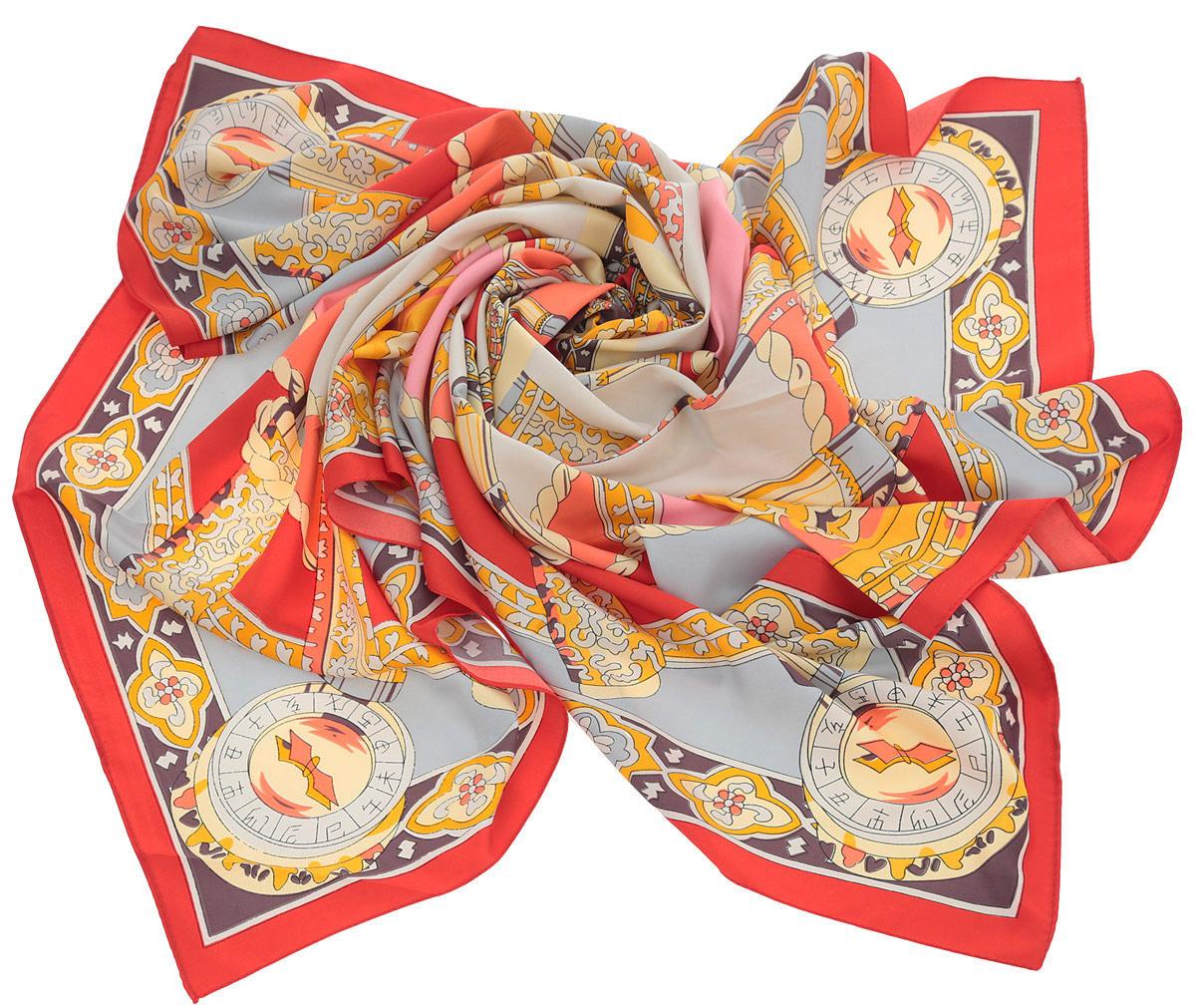 ПлатокHL-21514-10Оригинальный платок от Laura Milano станет изысканным аксессуаром, который подчеркнет ваши индивидуальность и очарование. Платок изготовлен из полиэстера и оформлен потрясающим узором. Платок Laura Milano станет вашим верным спутником, а окружающие обязательно будут обращать свое восторженное внимание на вас.