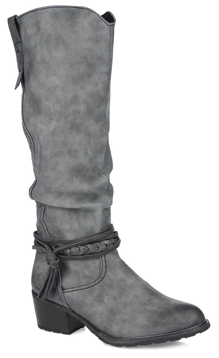 2-2-25507-25-202Оригинальные женские сапоги от Marco Tozzi займут достойное место в вашем гардеробе. Модель выполнена из искусственной кожи и оформлена ремешками. Голенище выполнено в сборку. Сапоги застегиваются на боковую молнию-застежку. Резинки, расположенные на голенище, обеспечивают оптимальную посадку модели на ноге. Мягкая подкладка и стелька из текстиля сохраняют тепло, обеспечивая максимальный комфорт при движении. Каблук средней высоты устойчив. Подошва с протектором гарантирует идеальное сцепление с любой поверхностью. В этих стильных сапогах вашим ногам будет комфортно и уютно!