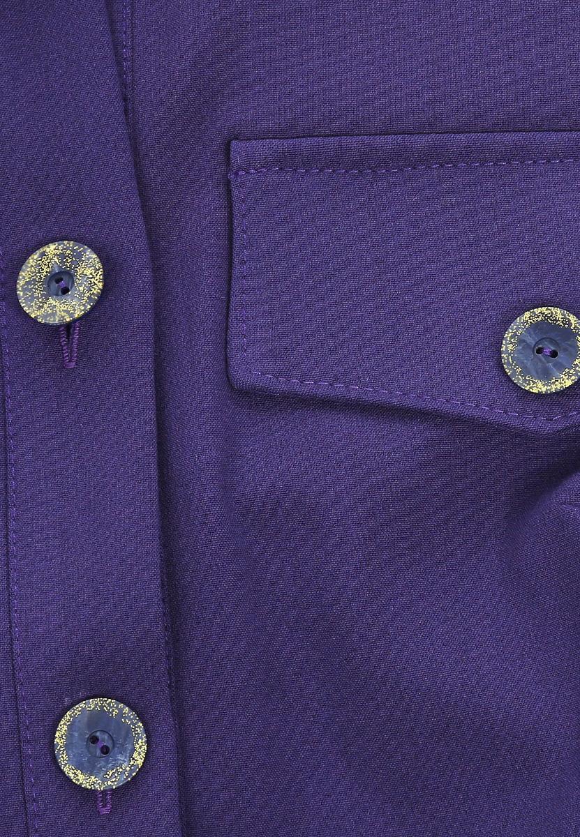 Платье651Стильное платье-рубашка Lautus прямого кроя из мягкого плотного трикотажа подойдет для повседневной носки. Модель выполнена из полиэстера, вискозы и эластана, благодаря которым изделие хорошо держит форму. Платье-рубашка с отложным воротником и рукавами до локтя дополнено текстильным поясом, который подчеркнет вашу талию. Это модное платье станет отличным дополнением к вашему гардеробу.