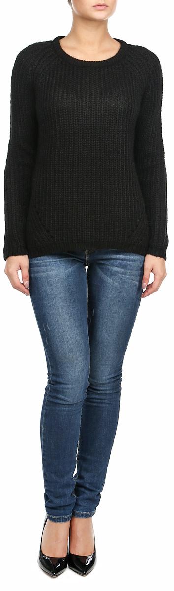 Джемпер10153641_568Женский вязаный джемпер Broadway, выполненный из 100%-го акрила, необычайно мягкий и приятный на ощупь, не сковывает движения, обеспечивая наибольший комфорт. Джемпер с круглым вырезом горловины и длинными рукавами идеально гармонирует с любыми предметами одежды и будет уместен и на отдых, и на работу. Низ и манжеты изделия связаны мелкой резинкой. Мягкий и уютный джемпер станет любимым элементом вашего гардероба.