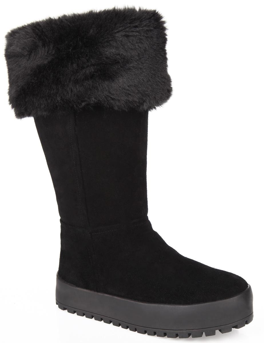 12-282Удобные и практичные зимние сапоги от Аллигаша покорят вашу девочку с первого взгляда! Модель выполнена из натуральной замши и дополнена меховым отворотом на голенище. Подкладка и анатомическая стелька - из натурального меха на тканной основе, согреют ножки ребенка в холод. Сапоги застегиваются на застежку-молнию. Подошва из термополиуретана - с противоскользящим рифлением. Удобные сапоги придутся по душе вашей дочурке!