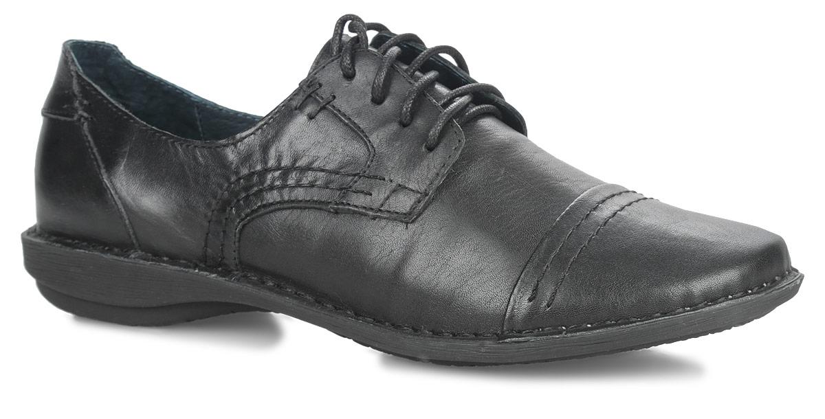 Туфли женские. SM2541_01_0SM2541_01_01Оригинальные женские туфли от Spur покорят вас своим дизайном и удобством! Модель выполнена из натуральной кожи. Носок изделия оформлен декоративной прострочкой. Шнуровка обеспечивает надежную фиксацию обуви на ноге. Мягкая стелька из натуральной кожи с отверстиями позволяет вашим ногам дышать. Вдоль ранта модель оформлена крупной прострочкой. Резиновая подошва с рельефной поверхностью обеспечивает отличное сцепление с любыми поверхностями. В таких модных туфлях вашим ногам будет комфортно и уютно!