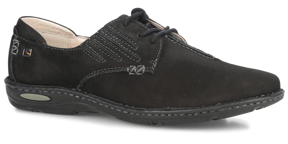 Туфли женские. SM1099_12_49SM1099_12_41Оригинальные женские туфли от Spur покорят вас своим дизайном и удобством! Модель выполнена из натурального нубука и декорирована прострочкой. Союзка оформлена внешним декоративным швом. Шнуровка обеспечивает надежную фиксацию обуви на ноге. По бокам модель оснащена резинками для более удобной посадки на ноге. Рифленая стелька из натуральной кожи позволяет вашим ногам дышать. Вдоль ранта модель оформлена крупной прострочкой. Резиновая подошва с рельефной поверхностью обеспечивает отличное сцепление с любыми поверхностями. В таких модных туфлях вашим ногам будет комфортно и уютно!