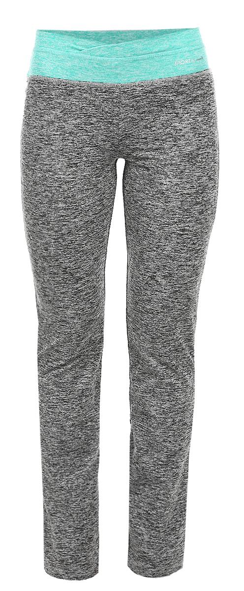 Брюки женские. Z-DR-1800Z-DR-1800 GRAPHITE MELУдобные женские брюки Moodo, выполненные из мягкого эластичного трикотажа, отлично подойдут на каждый день. Модель прямого кроя - настоящее воплощение комфорта, такие брюки не сковывают движений и обеспечивают наибольшее удобство. Пояс брюк дополнен широкой вставкой. Нижняя часть брюк фиксируется кулисками. Эти модные и в тоже время комфортные брюки послужат отличным дополнением к вашему гардеробу. Данные брюки как нельзя лучше подойдут для прогулок и активного отдыха.