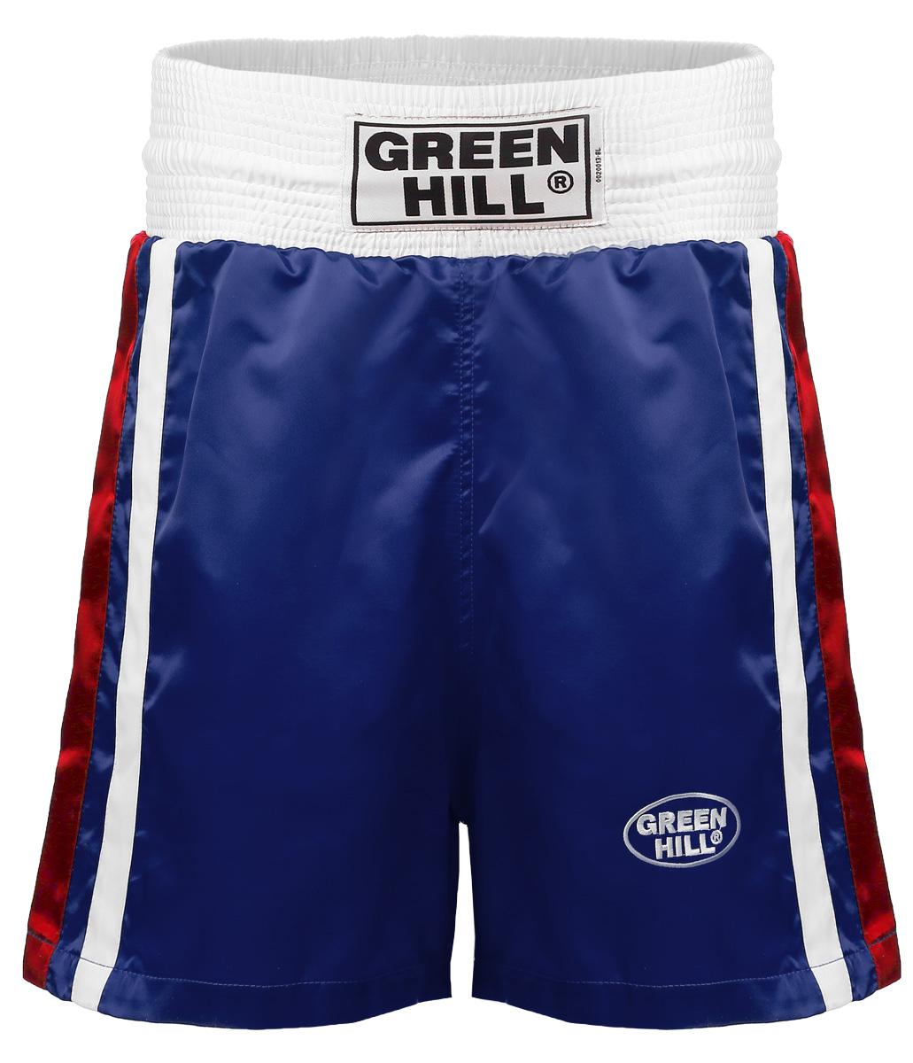 Трусы боксерские OLIMPIC. BSO-6320BSO-6320Трусы боксерские Green Hill Olimpic отлично подойдут для тренировок и соревнований. Широкий крой не стесняющий движений. Трусы выполнены из полиэстера и искусственного шелка. Трусы отлично держатся и не спадают благодаря широкому поясу со шнурком.