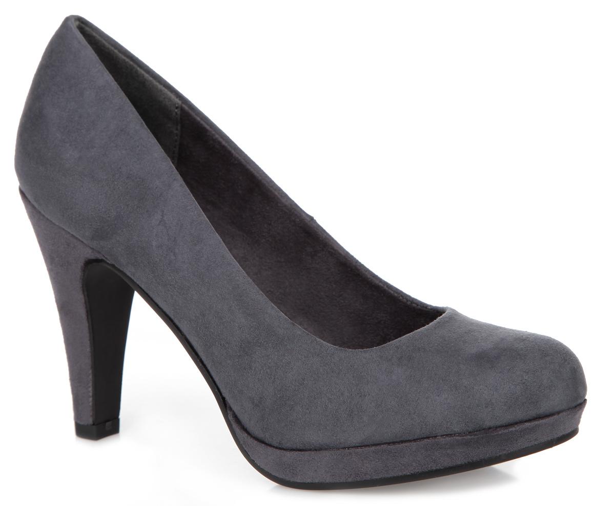 Туфли женские. 2-2-22441-352-2-22441-35-906Элегантные женские туфли от Marco Tozzi займут достойное место в вашем гардеробе. Модель выполнена из высококачественного текстиля и исполнена в лаконичном стиле. Закругленный носок добавит женственности в ваш образ. Мягкая стелька из искусственной кожи комфортна при движении. Высокий каблук устойчив. Подошва с рифлением защищает изделие от скольжения. Изысканные туфли добавят шика в модный образ и подчеркнут ваш безупречный вкус.