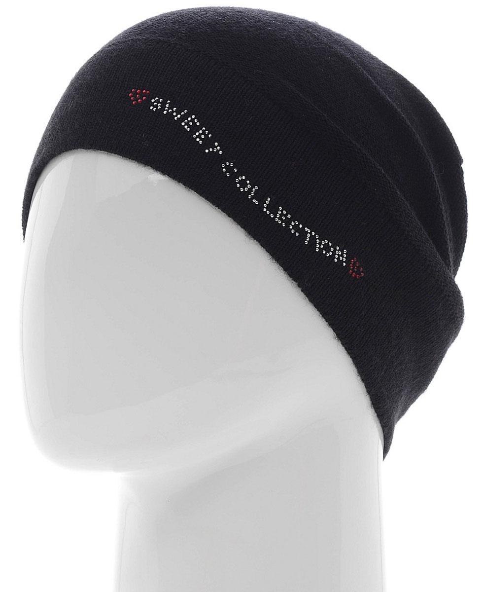 Шапка женская. 7305PI7305PI-18Удлиненная женская шапка Flioraj отлично дополнит ваш образ в холодную погоду. Сочетание шерсти и акрила максимально сохраняет тепло и обеспечивает удобную посадку, невероятную легкость и мягкость. Шапка украшена стразами в виде надписи Sweet collection. Привлекательная стильная шапка Flioraj подчеркнет ваш неповторимый стиль и индивидуальность.