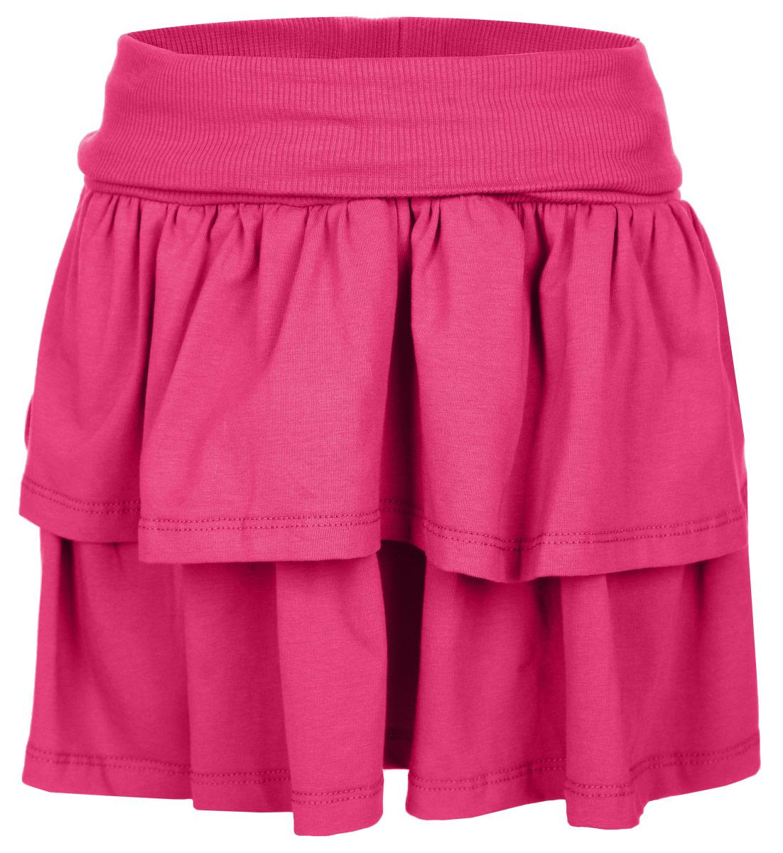 Юбка для девочки. 352063 - PlayToday352063Очаровательная юбка для девочки PlayToday идеально подойдет вашей моднице и станет отличным дополнением к детскому гардеробу. Изготовленная из эластичного хлопка, она мягкая и приятная на ощупь, не сковывает движения и позволяет коже дышать, не раздражает нежную кожу ребенка, обеспечивая ему наибольший комфорт. Юбка трапециевидного кроя на талии имеет широкую трикотажную резинку с отворотом, благодаря чему она не сдавливает животик. Модель дополнена двойной оборкой, придающей изделию пышность. В такой юбочке ваша маленькая принцесса будет чувствовать себя комфортно, уютно и всегда будет в центре внимания!