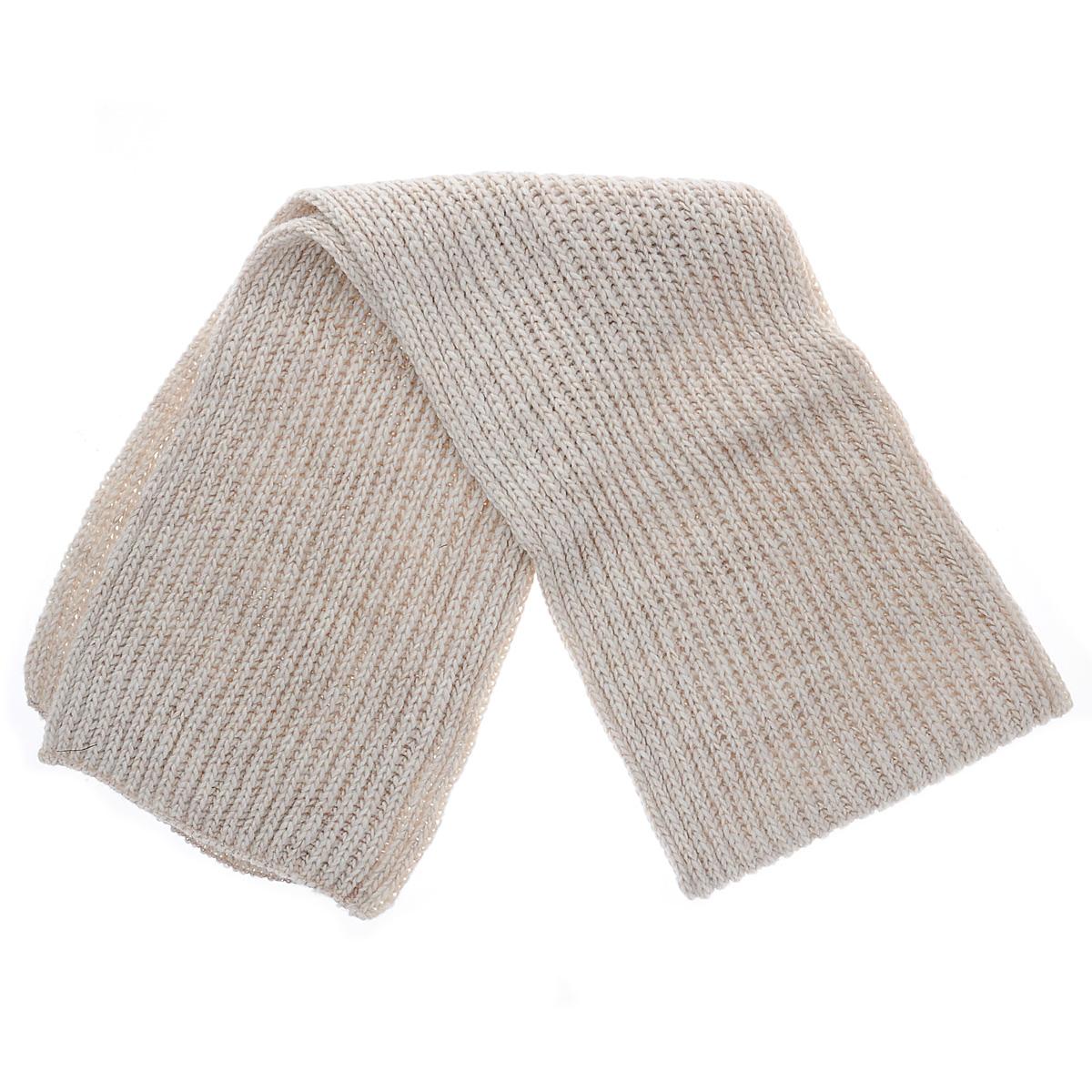 Шарф женский. 7127S7127S-11 GMВосхитительный женский вязаный шарф - отличная модель для холодной погоды. Сочетание различных материалов обеспечивает сохранение тепла и удобную посадку. Шарф выполнен оригинальной вязкой. Такой аксессуар достойно дополнит ваш гардероб.