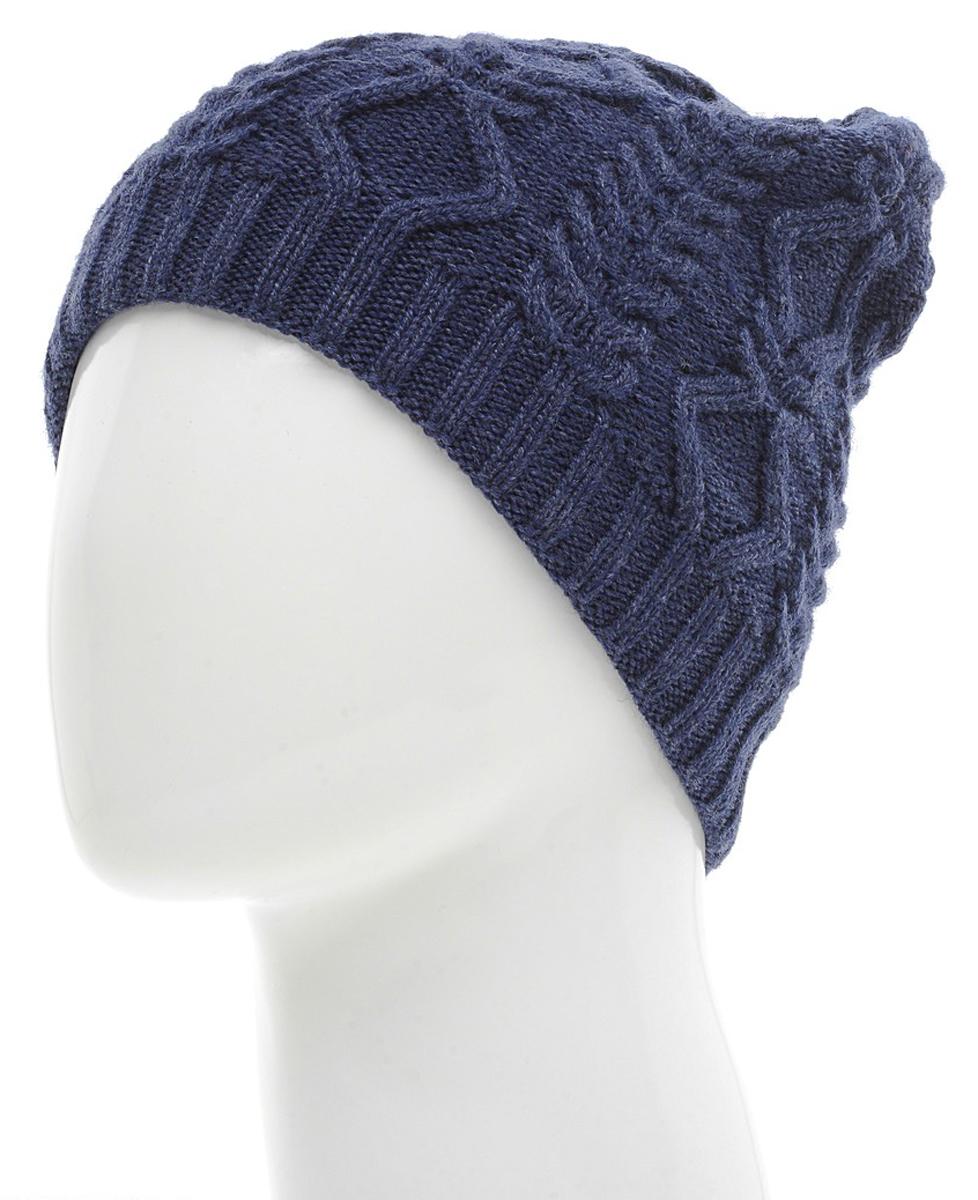 Шапка женская. 7226P7226P-11Женская шапка Flioraj - удлиненная вязаная шапочка с красивым симметричным рисунком, которая отлично дополнит ваш образ в холодную погоду и подчеркнет черты лица. Сочетание шерсти и акрила максимально сохраняет тепло и обеспечивает удобную посадку. Вязаная подкладка фиксируется эластичной резинкой, что не дает шапке сползти на глаза. Низ модели также связан резинкой, что обеспечивает эластичность и удобную посадку. Шапка Flioraj согреет вас даже в самые морозные дни!