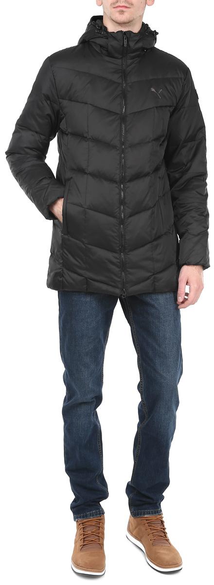 Пуховик мужской ESS Hd Midlength Down Jacket