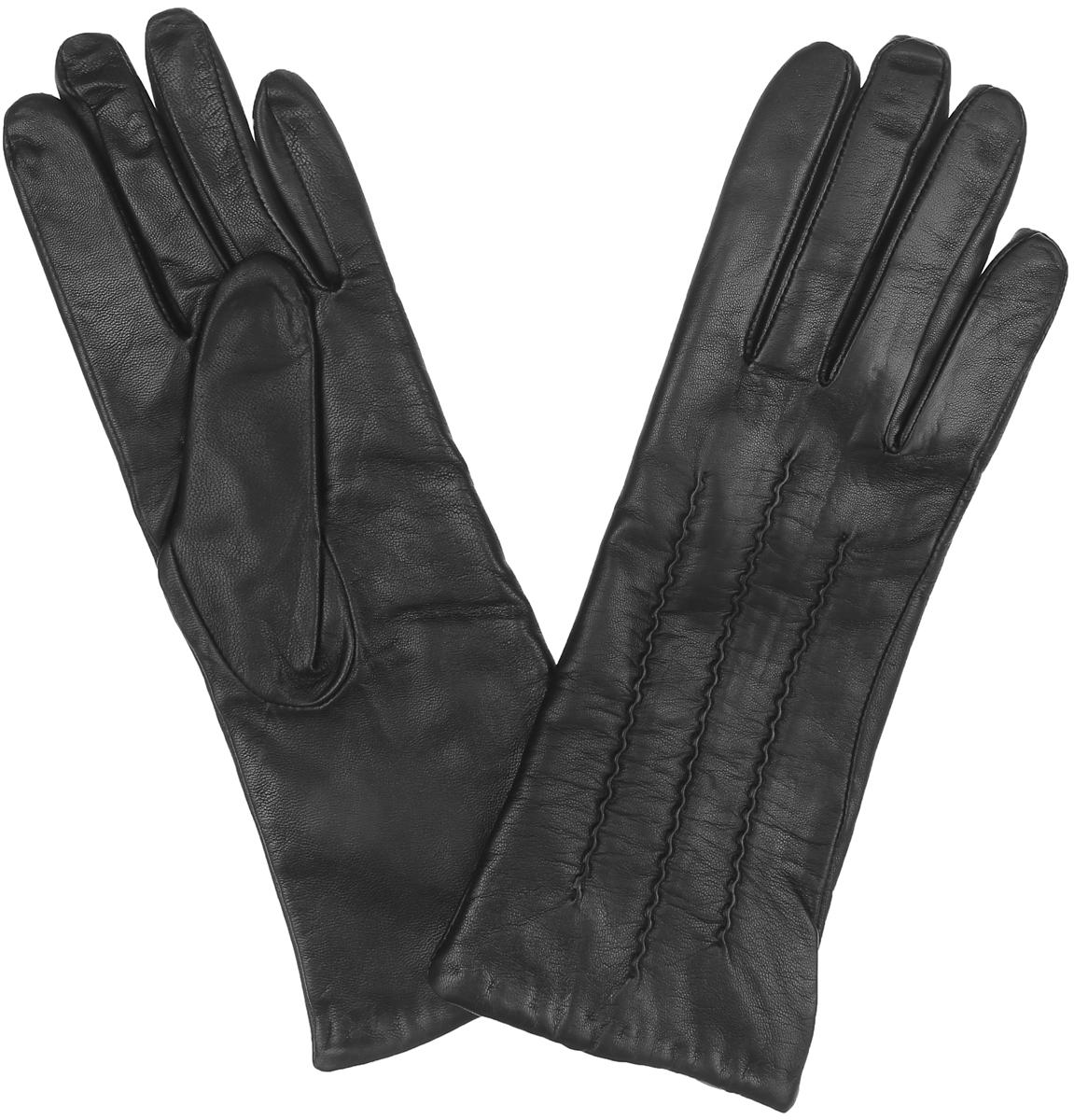 Перчатки женские. HP01132HP01132Классические женские перчатки Eleganzza - первая необходимость в осенне-зимний период. Перчатки выполнены из необыкновенно мягкой и приятной на ощупь кожи ягненка, а их подкладка - из натуральной шерсти с добавлением кашемира. Лицевая сторона украшена декоративным тиснением. Потрясающие женские перчатки Eleganzza подойдут романтичным особам с тонким вкусом. Но самое главное - они защитят руки от холода и ветра, сохраняя их красоту.