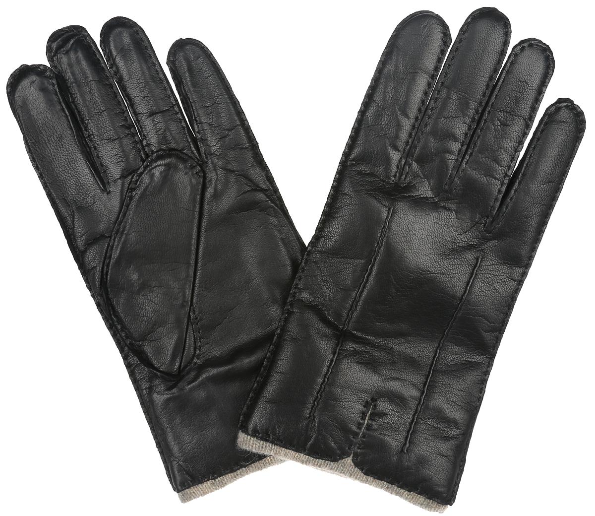 Перчатки мужские. LB-0013LB-0013Стильные мужские перчатки Labbra выполнены из чрезвычайно мягкой и приятной на ощупь натуральной кожи ягненка, а их подкладка - из натуральной шерсти с добавлением акрила. Модель декорирована оригинальной прострочкой в тон изделия. В настоящее время перчатки являются неотъемлемой принадлежностью одежды. Перчатки станут завершающим и подчеркивающим элементом вашего стиля и неповторимости.