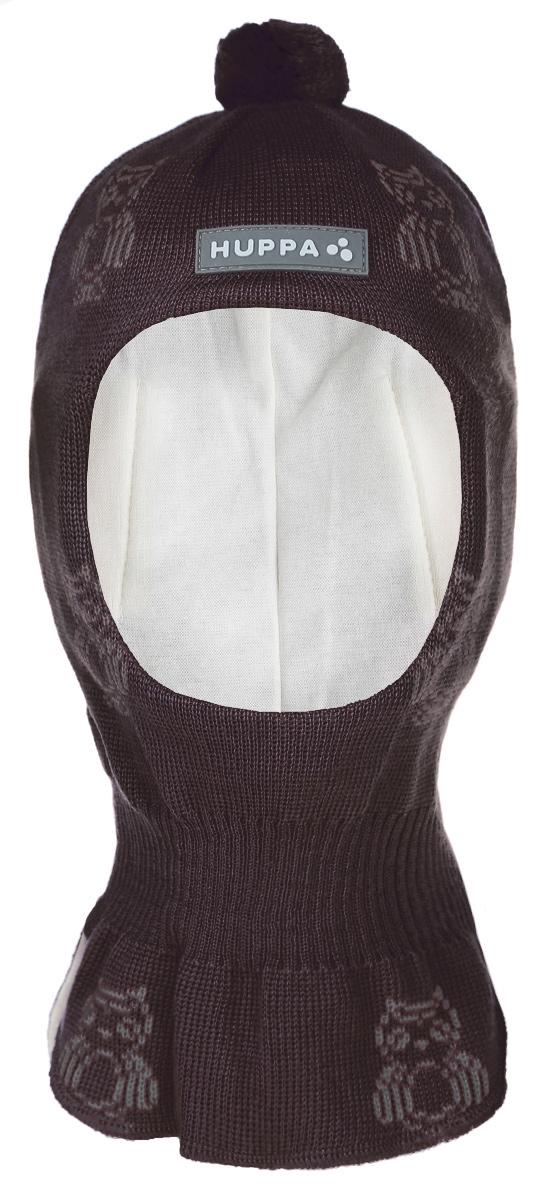 Шапка-шлем детская. 8512AW158512AW15_920Комфортная детская шапка-шлем Huppa идеально подойдет для прогулок в холодное время года. По своей конструкции шлем облегает головку ребенка, надежно защищая ушки, лобик и щечки от продуваний. Шапочка, выполненная из шерстяной и акриловой пряжи, максимально сохраняет тепло, она мягкая и идеально прилегает к голове. Шерсть хорошо тянется и устойчива к сминанию. Мягкая подкладка выполнена из натурального хлопка, поэтому шапка хорошо сохраняет тепло. Шапочка оформлена вязаными рисунками в виде сов и украшена на макушке небольшим помпоном. С внутренней стороны в районе ушек предусмотрены специальные скрытые вставки, чтобы ушки вашего ребенка не продувались. Также изделие дополнено небольшой нашивкой с названием бренда и светоотражающей вставкой для безопасности ребенка в темное время суток. Оригинальный дизайн и расцветка делают эту шапку стильным предметом детского гардероба. В ней ваш ребенок будет чувствовать себя уютно и комфортно. ...