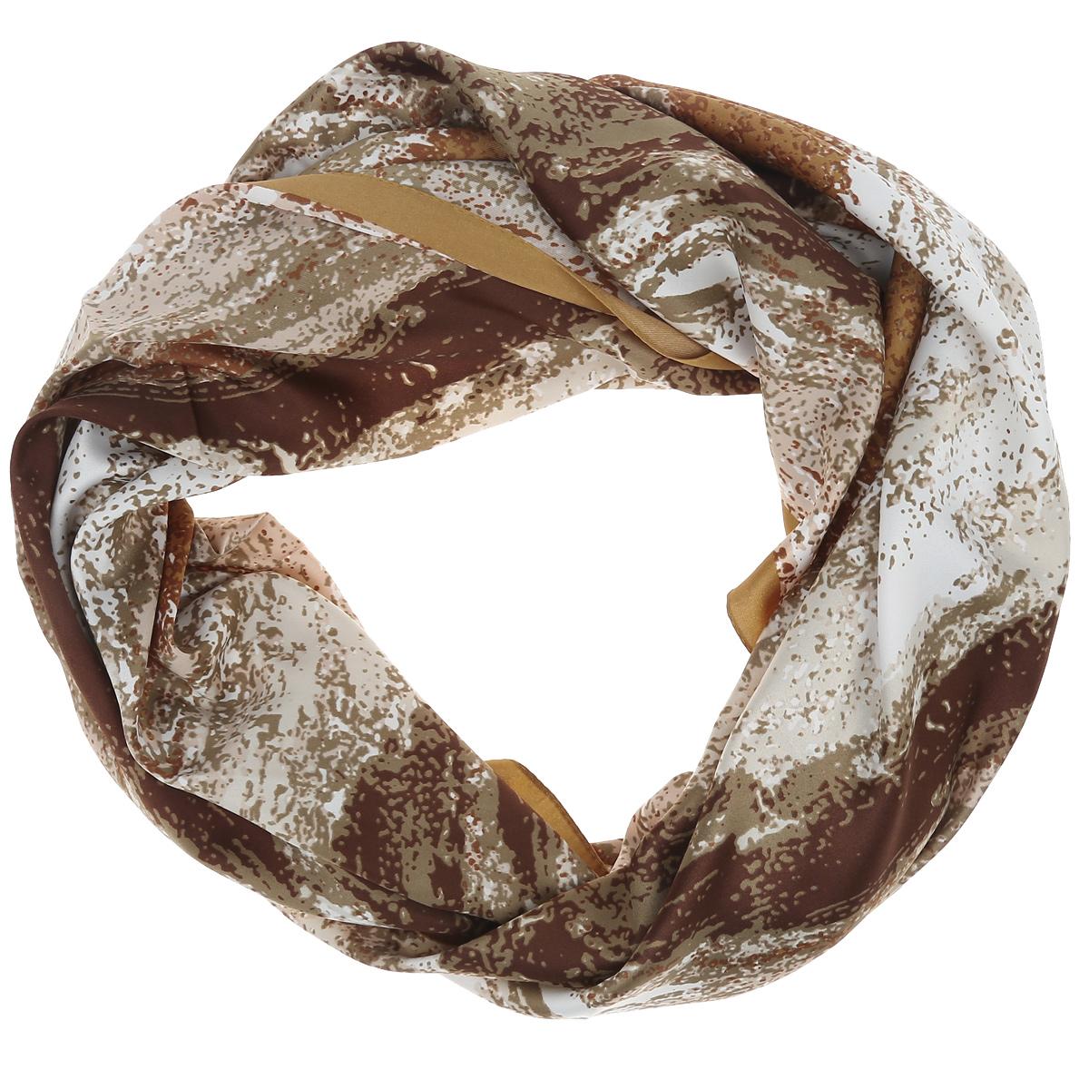 ПлатокCS-QUADRO-4Стильный женский платок Laura Milano станет великолепным завершением любого наряда. Платок изготовлен из высококачественного материала. Он оформлен оригинальным принтом в виде цветных пятен. Классическая квадратная форма позволяет носить платок на шее, украшать им прическу или декорировать сумочку. Мягкий и шелковистый платок поможет вам создать изысканный женственный образ, а также согреет в непогоду. Такой платок превосходно дополнит любой наряд и подчеркнет ваш неповторимый вкус и элегантность.