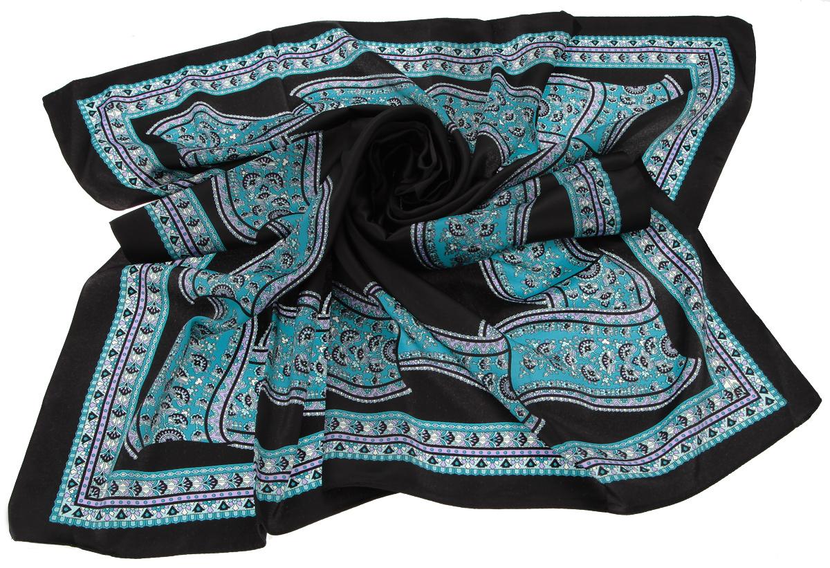Платок0015 flora_black-brownСтильный женский платок Laura Milano станет великолепным завершением любого наряда. Платок изготовлен из высококачественного материала и оформлен оригинальным принтом с изображением цветочного орнамента в восточном стиле. Классическая квадратная форма позволяет носить платок на шее, украшать им прическу или декорировать сумочку. Мягкий и шелковистый платок поможет вам создать изысканный женственный образ, а также согреет в непогоду. Такой платок превосходно дополнит любой наряд и подчеркнет ваш неповторимый вкус и элегантность.