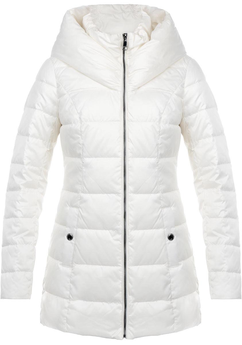 Куртка женская. W15-11006W15-11006_711Стильная удлиненная куртка Finn Flare выполнена из высококачественного плотного материала, рассчитана на холодную погоду. Она поможет вам почувствовать себя максимально комфортно и стильно. Модель с длинными рукавами, несъемным капюшоном и воротником-стойкой застегивается на застежку-молнию. Модель дополнена двумя карманами на кнопках. В этой куртке вам будет комфортно. Модная фактура ткани, отличное качество, великолепный дизайн.