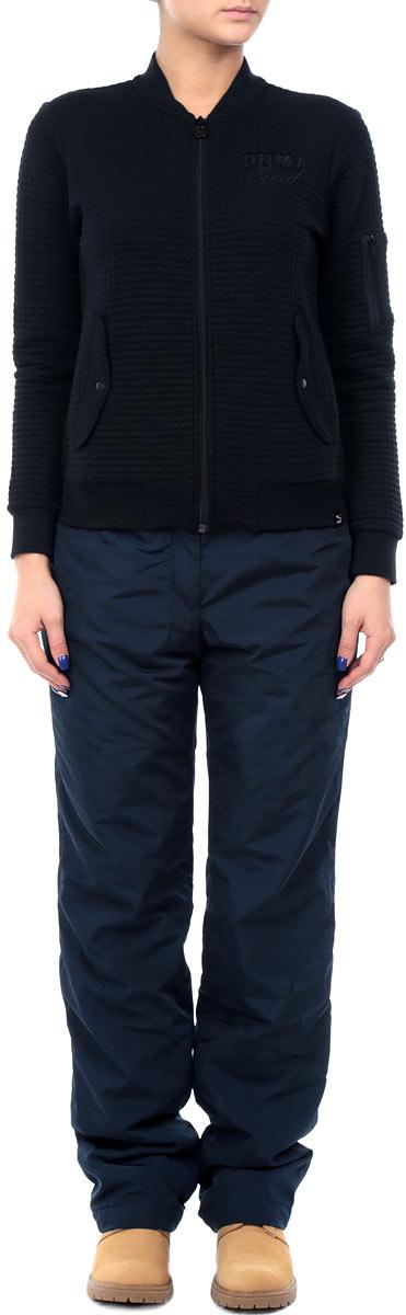 БрюкиW15-12008_101Утепленные женские брюки Finn Flareсвободного покроя, изготовленные из воздухопроницаемого материала, позволят вам чувствовать себя комфортно в холодную погоду. Современный дизайн, созданный специально для девушек, которые ценят стиль. На поясе изделие застегивается на ширинку с молнией и кнопку, имеются шлевки для ремня. Спереди изделие дополнено двумя втачными карманами. Брюки подарят комфорт и тепло и позволят наслаждаться зимними видами спорта и активным отдыхом.