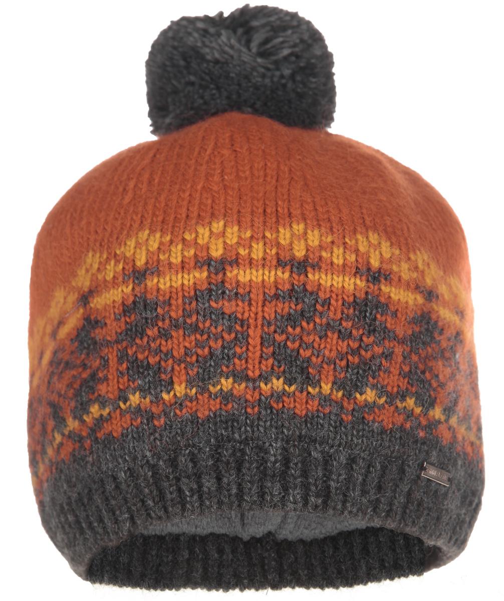 Шапка мужская. W15-22124W15-22124Стильная мужская шапка Finn Flare отлично дополнит ваш образ в холодную погоду. Сочетание шерсти и акрила максимально сохраняет тепло и обеспечивает удобную посадку. Шапка оформлена орнаментом и на макушке украшена помпоном. Модель дополнена мягкой флисовой подкладкой. Понизу предусмотрена неширокая вязаная резинка. Шапка украшена металлической эмблемой с логотипом производителя. Такая модель комфортна и приятна на ощупь, она великолепно подчеркнет ваш вкус.