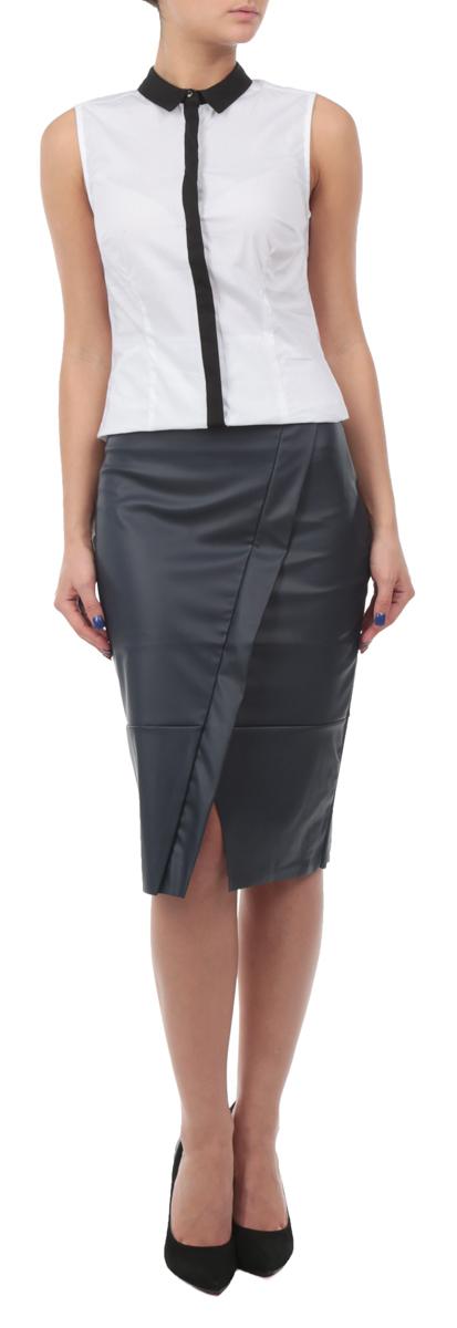 Юбка. SSD0892GRSSD0892GRЮбка-карандаш Top Secret выполнена из высококачественного материала стилизованного под кожу, она обеспечит вам комфорт и удобство при носке. Спереди модель дополнена небольшим разрезом. Очаровательная юбка сбоку застегивается на потайную застежку-молнию. Стильная однотонная юбка-карандаш выгодно освежит и разнообразит любой гардероб. Создайте женственный образ и подчеркните свою яркую индивидуальность! Классический фасон и подчеркнуто элегантный силуэт сделает ваш образ непревзойденным.