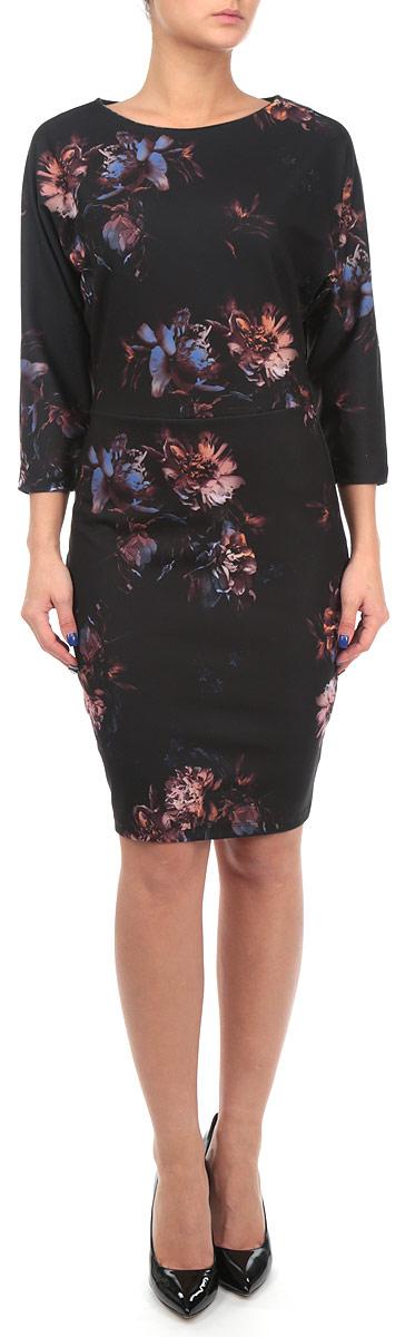 Платье. SSU1431GRSSU1431GRНевероятно женственное платье Top Secret подойдет не только для повседневной носки, но и с легкостью поможет создать романтический образ. Модель изготовлена из эластичного материала, с круглым вырезом горловины и укороченными рукавами летучая мышь выгодно подчеркнет все достоинства вашей фигуры, благодаря приталенному крою. Платье оформлено цветочным принтом. На спинке изделие застегивается на скрытую застежку-молнию. Изысканное платье-миди создаст обворожительный и неповторимый образ.