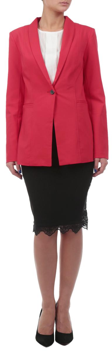 ПиджакSZK0394CEСтильный женский пиджак Top Secret, изготовленный из хлопка с добавлением полиэстера и эластана, обладает высокой теплопроводностью, воздухопроницаемостью и гигроскопичностью, очень приятен при носке. Модель приталенного кроя с длинными рукавами и отложным воротником с лацканами застегивается спереди на пуговицу. По бокам расположены прорезные карманы. Манжеты рукавов украшены пуговками. Пиджак Top Secret будет дарить вам комфорт в течение всего дня и послужит замечательным дополнением к вашему гардеробу.
