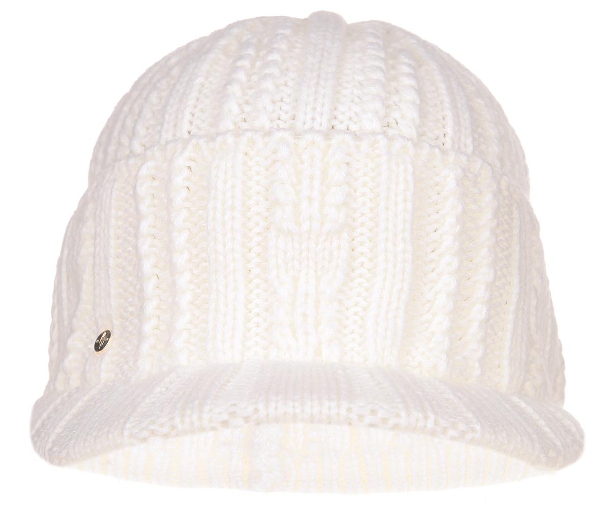 Шапка женская. Gala3443180Практичная женская шапка Canoe Gala плотной вязки, полушерстяная шапочка с отворотом и небольшим козырьком, отлично дополнит ваш образ в холодную погоду. Шапочка оформлена фактурным рисунком вязки и декорирована небольшим элементом в виде металлической круглой пластины с названием бренда. Такая шапка составит идеальный комплект с модной верхней одеждой, в ней вам будет уютно и тепло! Изделие проходит предварительную стирку и последующую обработку специальными составами и паром для улучшения износоустойчивости, комфорта и приятных тактильных ощущений. Структура шерсти после обработок по новейшим технологиям приобретает легкость, мягкость, морозоустойчивость, становится пушистой, не продуваемой. Изделие долго сохраняет заданную форму.