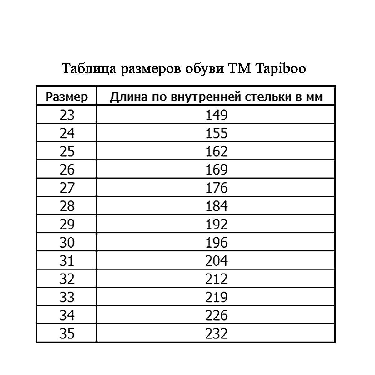 TapiBoo ����� ��� �������. FT-25001.15-OL03O. 01