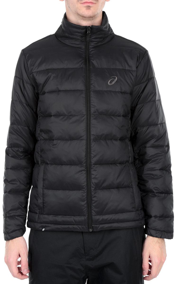 Куртка мужская Padded. 125092-0904125092-0904Не дайте непогоде нарушить ваши планы благодаря куртке Padded от Asics, в которой вам будет тепло, комфортно и удобно. Сохранение тепла обеспечивается за счет наполнителя Polyfill и ткани рипстоп. Куртка с воротником-стойкой застегивается на застежку-молнию. По бокам модель дополнена двумя втачными карманами на застежках-молниях. На внутренней стороне размещается два вместительных накладных кармана. Понизу модель регулируется кулиской со стопперами. Модель декорирована на груди вышитым логотипом с названием бренда. Такая куртка обеспечит вам не только красивый внешний вид и комфорт, но и дополнительную защиту от холода и ветра.