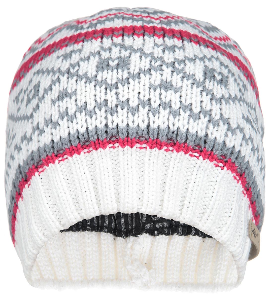 Шапка унисекс White Pine Beanie. CU9215CU9215-100Великолепная шапка унисекс Columbia White Pine Beanie обладает современным дизайном, который будет актуальным как на спортивных мероприятиях, так и в повседневной жизни. Шапка выполнена гладкой вязкой из приятного на ощупь акрила с подкладкой, что позволяет ей великолепно сохранять тепло и обеспечивать высокую эластичность. Край шапки связан резинкой для удобства посадки. Модель оформлена орнаментами и украшена кожаной нашивкой с логотипом бренда. Такой головной убор сочетает в себе эстетические элементы с высокой практичностью.