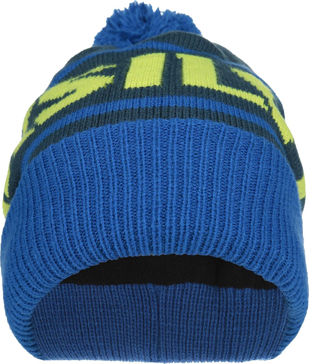 Шапка мужская Summit BeanieEQYHA03001-NZG0Стильная мужская шапка Quiksilver Summit Beanie дополнит ваш наряд и не позволит вам замерзнуть в холодное время года. Шапка-бини мелкой вязки выполнена из высококачественной акриловой пряжи, что позволяет ей великолепно сохранять тепло и обеспечивает высокую эластичность и удобство посадки. Подкладка выполнена из мягкого и приятного на ощупь флиса. Шапка с отворотом украшена пушистым помпоном и оформлена контрастной надписью Quicksilver. Такая шапка станет модным и стильным дополнением вашего зимнего гардероба, великолепно подойдет для активного отдыха и занятия спортом. Она согреет вас и позволит подчеркнуть свою индивидуальность!