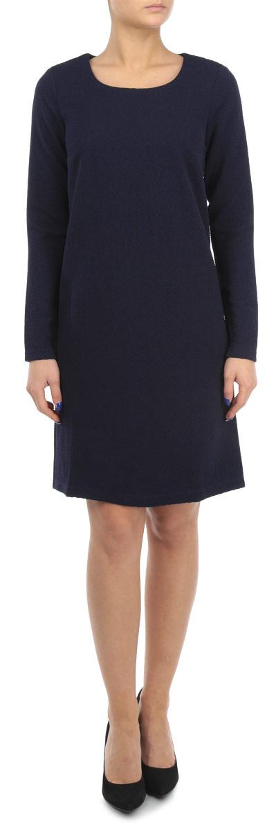 Платье. W15-11026W15-11026Элегантное платье Finn Flare выполнено из эластичного полиэстера. Такое платье обеспечит вам комфорт и удобство при носке. Модель с длинными рукавами и круглым вырезом горловины выгодно подчеркнет все достоинства вашей фигуры. Платье оформлено оригинальным рельефным узором. Изысканное однотонное платье-миди создаст обворожительный и неповторимый образ. Это модное и удобное платье станет превосходным дополнением к вашему гардеробу, оно подарит вам удобство и поможет вам подчеркнуть свой вкус и неповторимый стиль.
