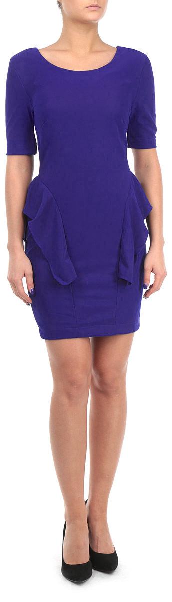 Платье. FA13 KIT04FA13 KIT04 BLUEСтильное платье Broadway, выполненное из высококачественного материала, покорит своим превосходным дизайном. Модель приталенного силуэта, с рукавом 1/2 и с круглым вырезом горловины. Изделие застегивается на застежку-молнии на спинке. По бокам платье оформлено оборкой. Это модное и в тоже время комфортное платье послужит отличным дополнением к вашему гардеробу. В нем вы всегда будете чувствовать себя уютно и комфортно.
